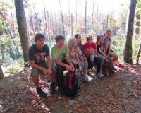 Wanderung Lusen 2011